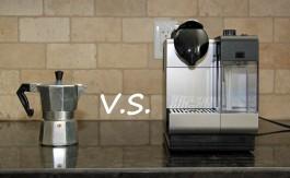 Nespresso VS Cafetière